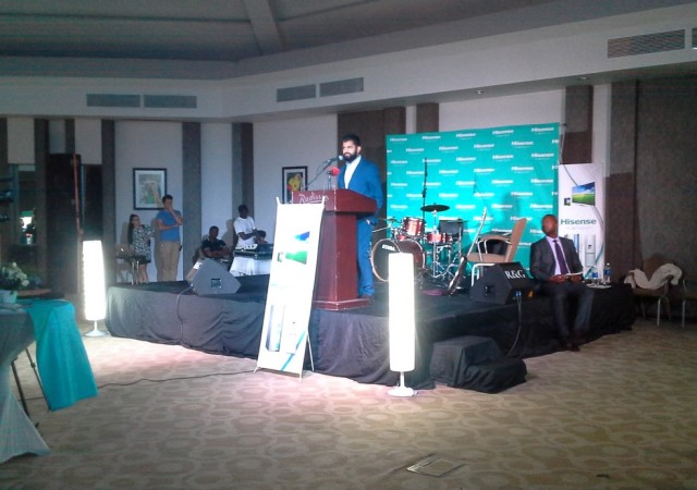 Hisense Zambia Launch with Hazida Ltd